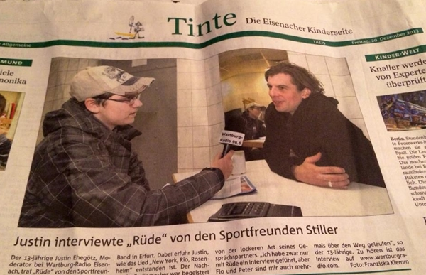 Interview Sportfreunde Stiller